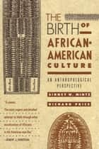 The Birth of African-American Culture ebook by Sidney Wilfred Mintz