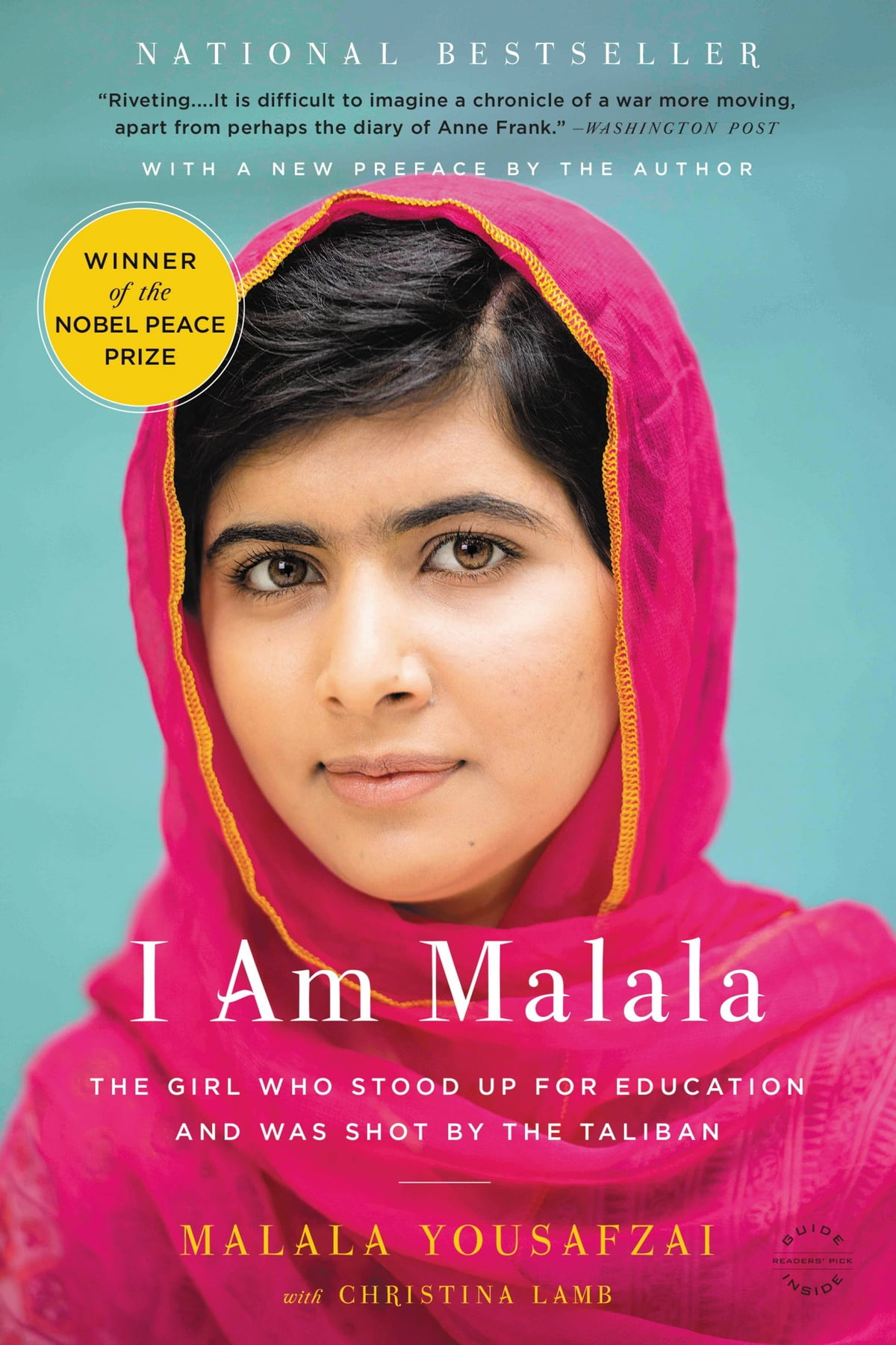 I Am Malala  The Girl Who Stood Up For Education And Was Shot By The