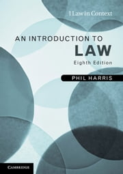 An Introduction to Law ebook by Phil Harris