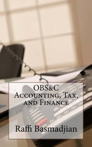 OBS&C Accounting Tax and Finance ebook by Raffi Basmadjian