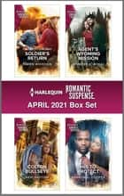 Harlequin Romantic Suspense April 2021 ebook by Karen Whiddon, Geri Krotow, Jennifer D. Bokal,...
