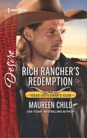 Rich Rancher's Redemption - A Sexy Western Contemporary Romance ebook by Maureen Child