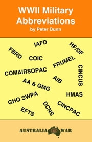 WWII Military Abbreviations ebook by Peter Dunn