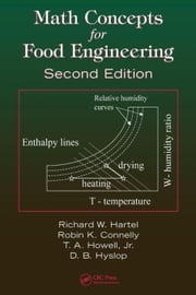 Math Concepts for Food Engineering, Second Edition ebook by Hartel, Richard W.