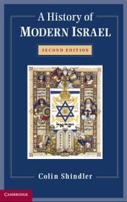 A History of Modern Israel ebook by Shindler, Colin