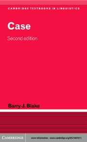 Case ebook by Blake, Barry J.