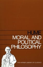 Moral and Political Philosophy ebook by David Hume