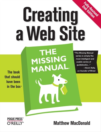 creating a web site the missing manual ebook by matthew macdonald
