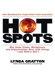 Hot Spots - Why Some Teams, Workplaces, and Organizations Buzz with Energy - And Others Don't ebook by Lynda Gratton