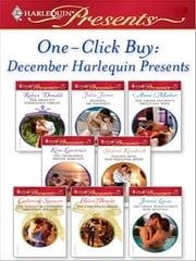 One-Click Buy: December Harlequin Presents ebook by Robyn Donald, Julia James, Anne Mather,...