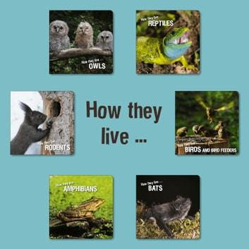 How they live - Learn All There Is to Know About Animals! ebook by Ivan Esenko,David Withrington