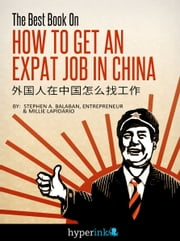 The Best Book On How To Get An Expat Job In China