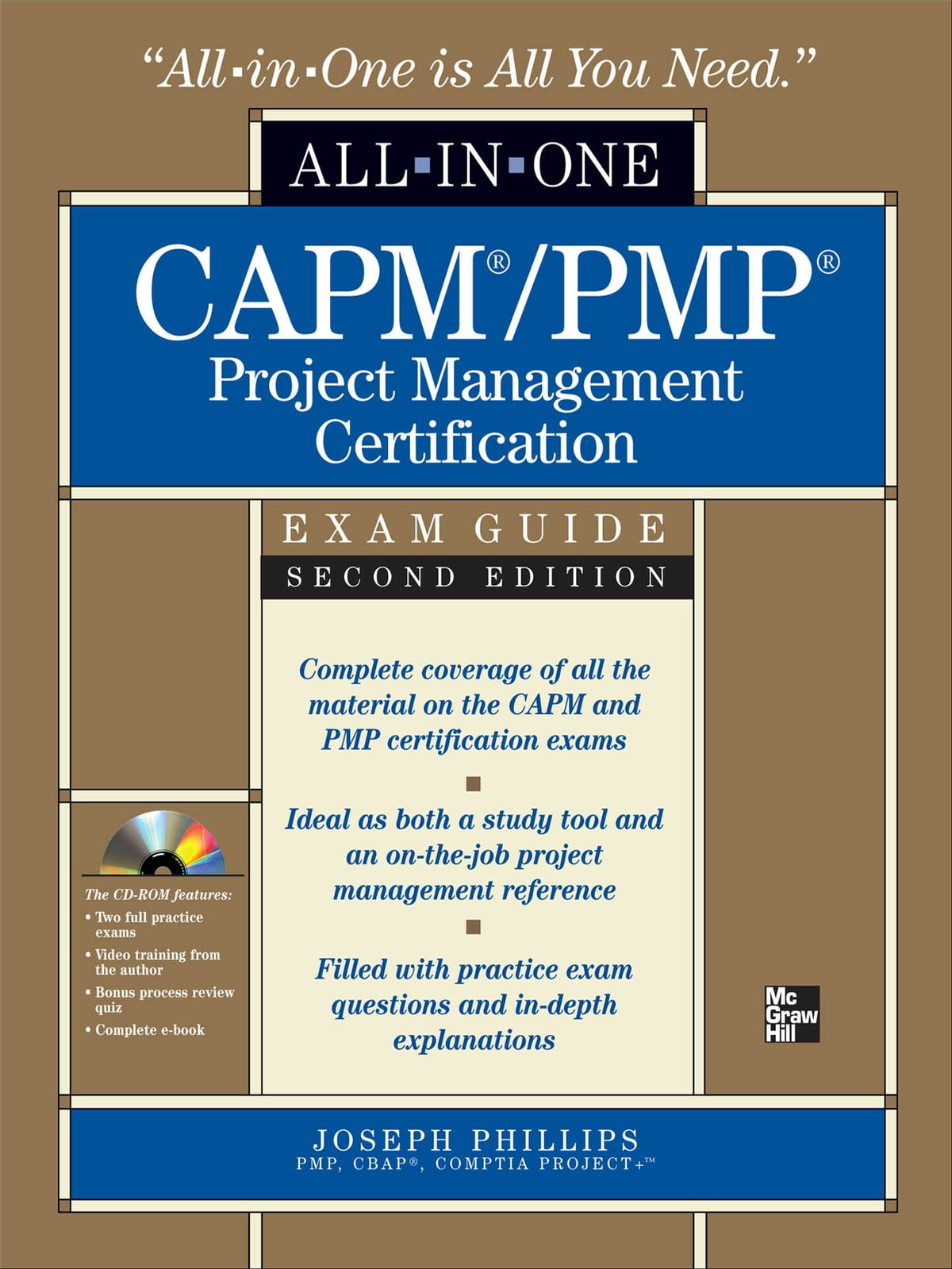CAPM/PMP Project Management Certification All-in-One Exam Guide with  CD-ROM, Second Edition eBook by Joseph Phillips - 9780071633000 | Rakuten  Kobo