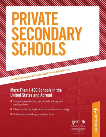 Private Secondary Schools: Special Needs Schools - Part III of V ebook by Peterson's