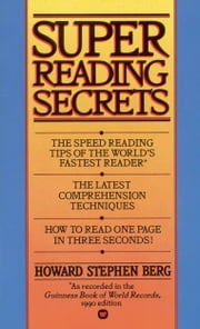 Super Reading Secrets ebook by Kobo.Web.Store.Products.Fields.ContributorFieldViewModel