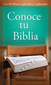 Conoce tu Biblia ebook by Paul Kent