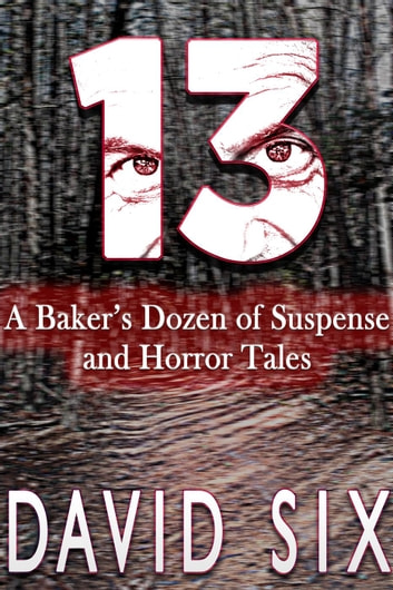 13: A Baker's Dozen of Suspense and Horror Tales ebook by David Six