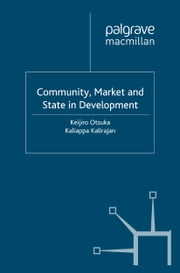 Community, Market and State in Development ebook by