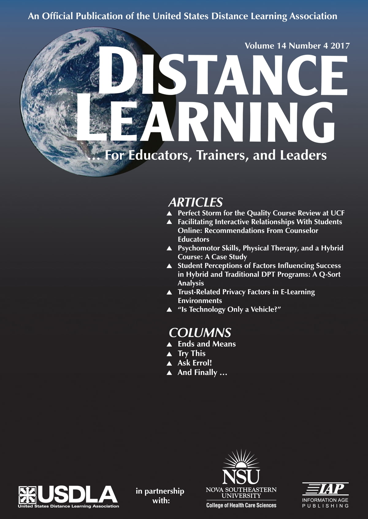 Courses, distance learning: a selection of articles