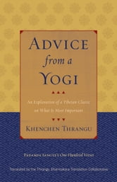 Advice from a Yogi - An Explanation of a Tibetan Classic on What Is Most Important ebook by Khenchen Thrangu,Padampa Sangye