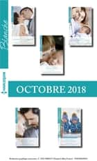 10 romans Blanche (n°1391 à 1395 - Octobre 2018) ebook by Collectif