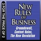 New Rules for Business - Groundswell Expanded and Revised Edition; Content Rules; The Now Revolution audiobook by Jay Baer, Josh Bernoff, CC Chapman,...