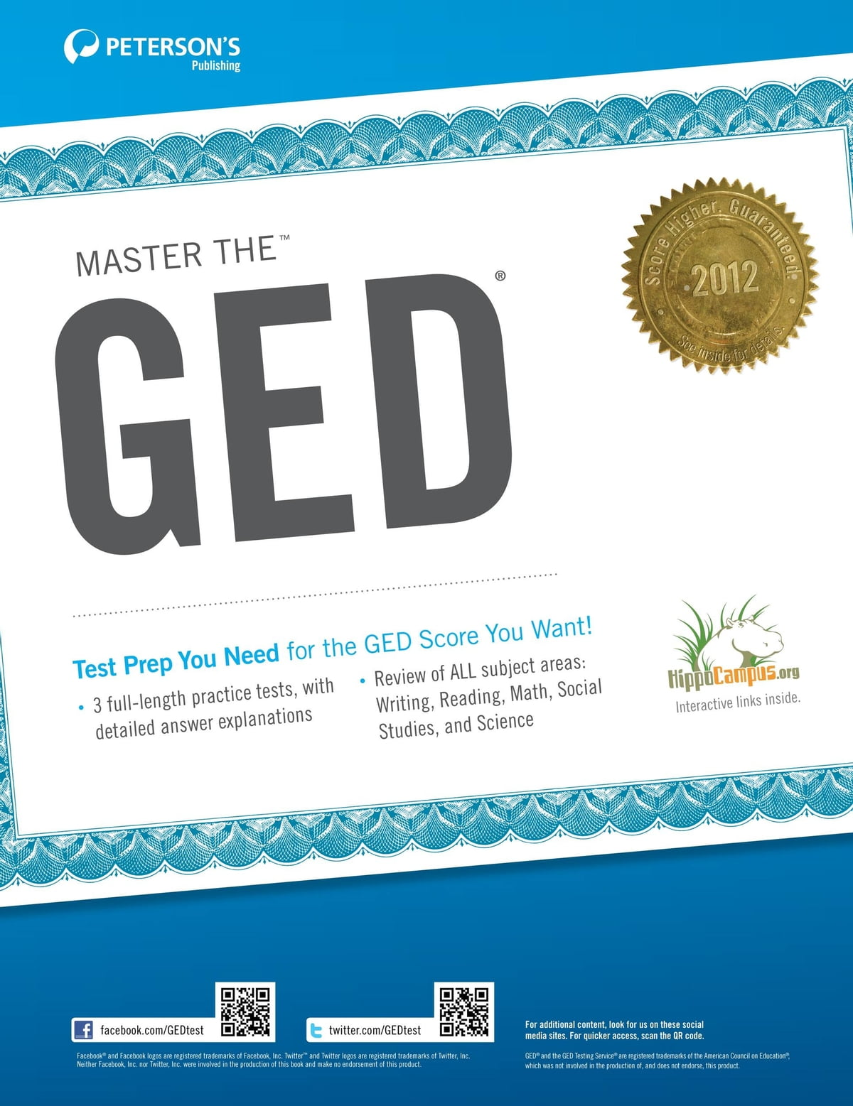 Master the GED: The GED Tests--The Basics eBook by Peterson's -  9780768935936 | Rakuten Kobo
