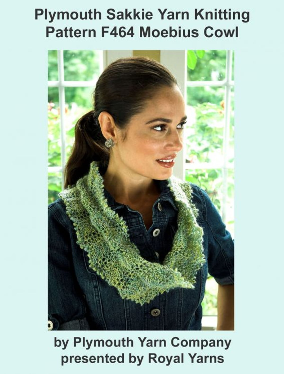 Plymouth sakkie yarn knitting pattern f464 lacy moebius cowl ebook plymouth sakkie yarn knitting pattern f464 lacy moebius cowl ebook by royal yarns 9781301867431 rakuten kobo bankloansurffo Gallery