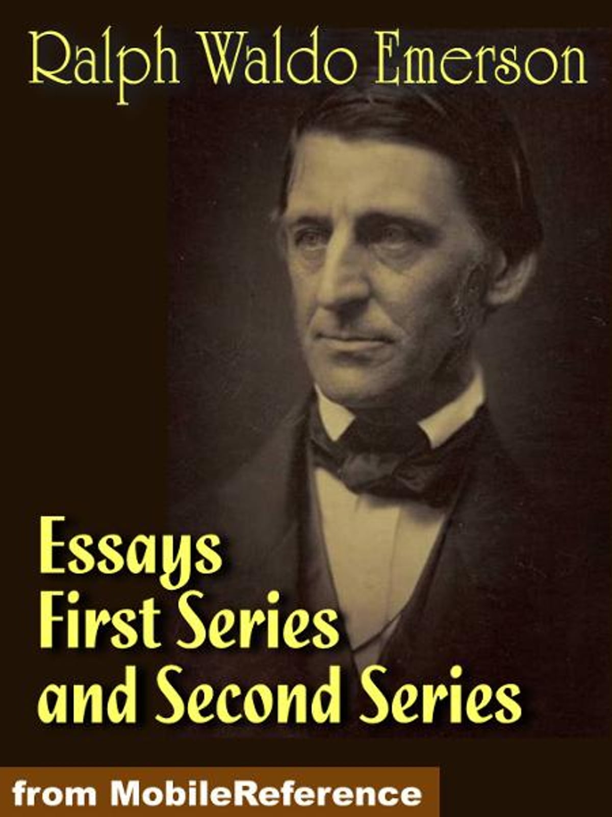 emmerson essays Essay on art - emerson, listen to free sample of emersons essay on art and then join our members for full access to all the great spiritual and self help.