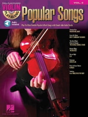 Popular Songs (Songbook) - Violin Play-Along Volume 2 ebook by Hal Leonard Corp.