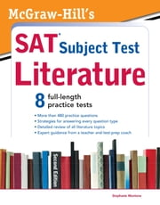 McGraw-Hill's SAT Subject Test Literature, 2nd Edition ebook by Stephanie Muntone