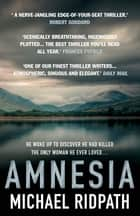 Amnesia - An 'ingenious' and 'twisting novel', perfect for fans of Peter Lovesey and William Ryan ebook by