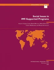 Social Issues in IMF-Supported Programs ebook by Ritha Mrs. Khemani,Sanjeev Mr. Gupta,Calvin Mr. McDonald,Louis Mr. Dicks-Mireaux,Marijn Verhoeven