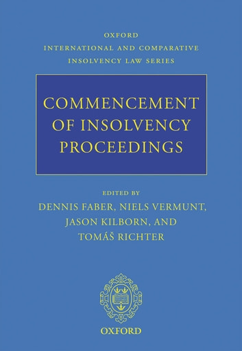 Commencement of Insolvency Proceedings ebook by