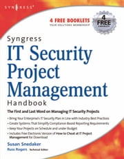 Syngress IT Security Project Management Handbook ebook by Snedaker, Susan