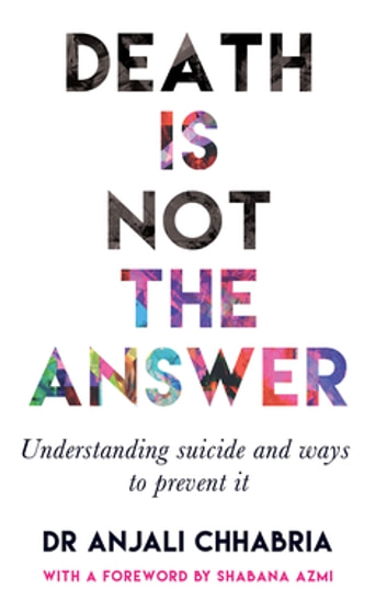 suicide is not the answer and Suicide is not the answer: why and how to not commit suicide - kindle edition by marsell morris download it once and read it on your kindle device, pc, phones or tablets.
