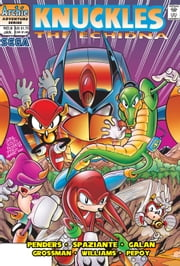 "Knuckles the Echidna #8 ebook by Ken Penders,Patrick ""SPAZ"" Spaziante,Manny Galan,Andrew Pepoy,Barry Grossman"