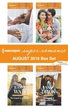 Harlequin Superromance August 2016 Box Set - The Marine's Embrace\To Court a Cowgirl\Love on Her Terms\Through a Magnolia Filter ebook by Beth Andrews, Jeannie Watt, Jennifer Lohmann,...