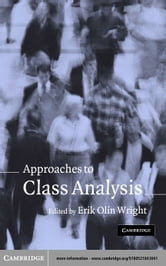 Approaches to Class Analysis ebook by Wright, Erik Olin