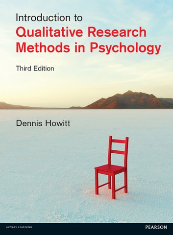 Research Methods in Psychology ebook by Dr Dennis Howitt,Prof Duncan Cramer
