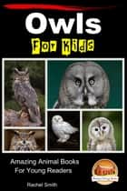 Owls For Kids: Amazing Animal Books For Young Readers ebook by Rachel Smith
