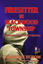 Firestter in Blackwood Township, A Winnebago County Mystery ebook by Christine Husom