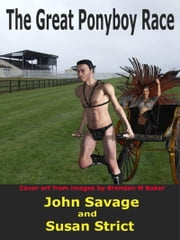 The Great Ponyboy Race ebook by Susan Strict,John Savage