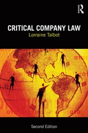 Critical Company Law ebook by Lorraine Talbot