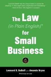 The Law (in Plain English) for Small Business (Fifth Edition) ebook by Amanda Bryan, Leonard D. DuBoff