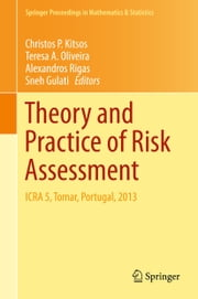 Theory and Practice of Risk Assessment - ICRA 5, Tomar, Portugal, 2013 ebook by Christos P. Kitsos,Teresa A. Oliveira,Alexandros Rigas,Sneh Gulati