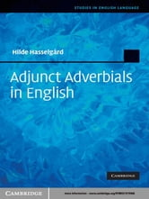 Adjunct Adverbials in English ebook by Hilde Hasselgård