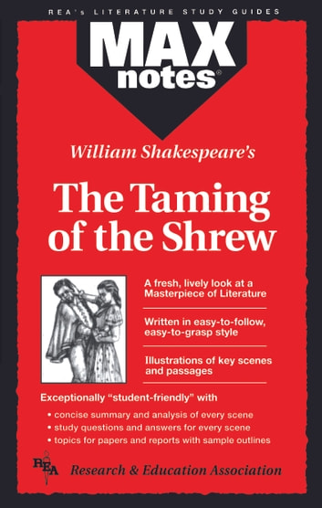 Taming of the Shrew, The (MAXNotes Literature Guides) ebook by Christopher Garcez