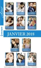 11 romans Azur + 1 gratuit (n°3905 à 3915 - Janvier 2018) ebook by Collectif