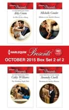 Harlequin Presents October 2015 - Box Set 2 of 2 - An Anthology ebook by Abby Green, Cathy Williams, Michelle Conder,...